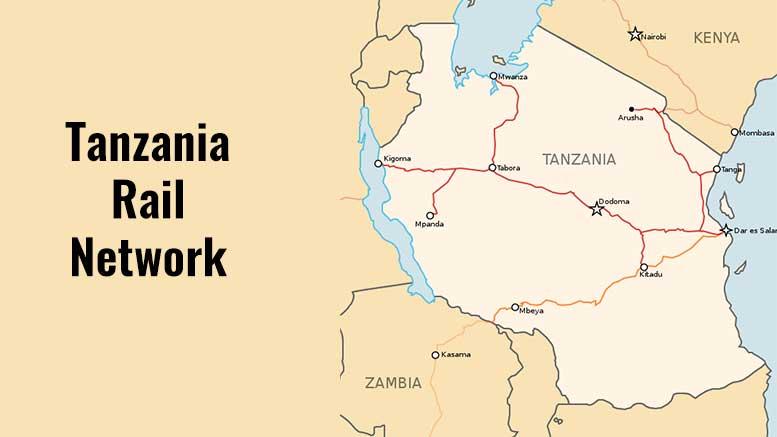 Tanzania rail network
